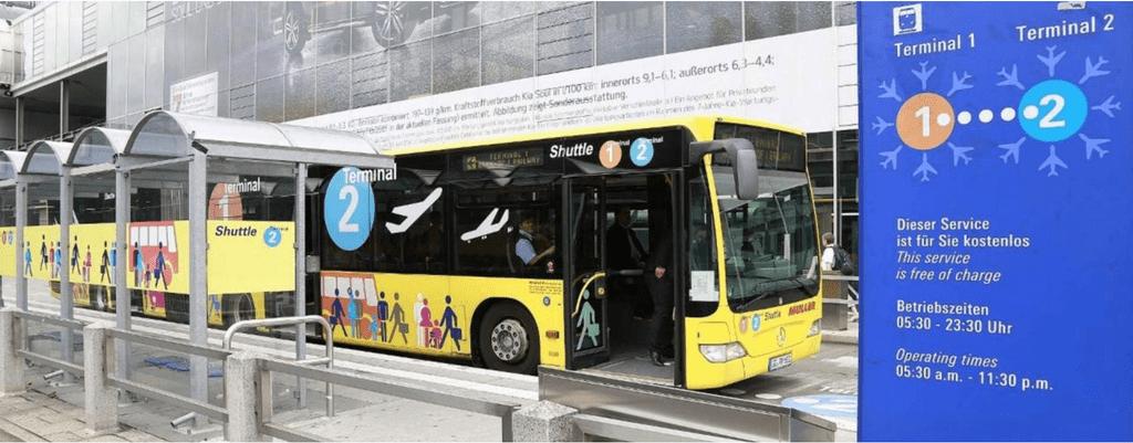 Fraport airport Shuttle Bus