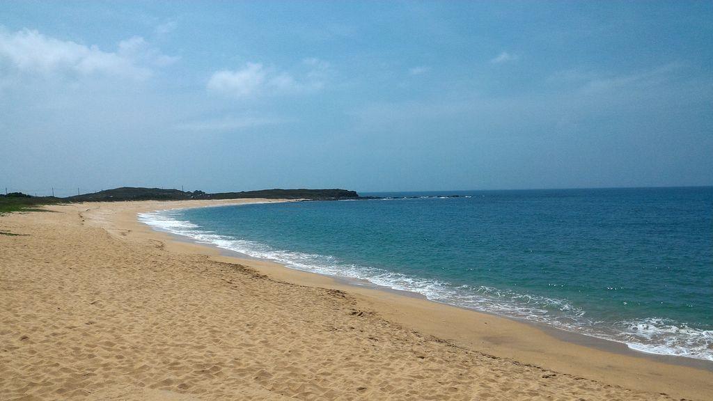 望安網安口沙灘