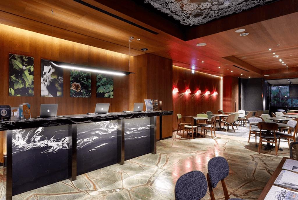 菱悅酒店台中館接待大廳